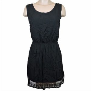 One size fits all black dress by Brandy Melville- cotton and viscose - like new